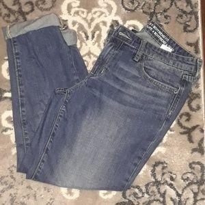 Gap crop Jean